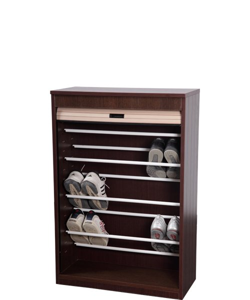 wooden cupboard for shoes