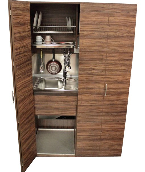 Mini-kitchen125 -doors