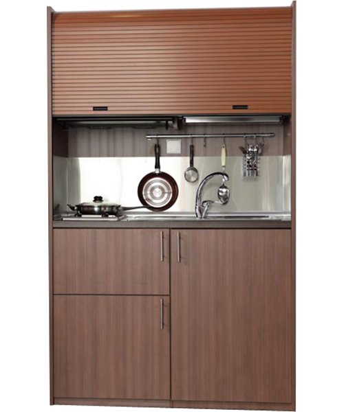 SILVER kitchenette 125 with oven